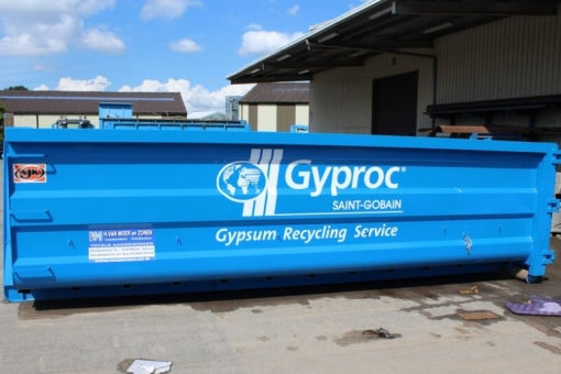 Gyproc recycling service